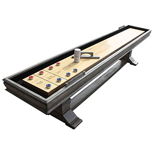 Hathaway Montecito Driftwood 12ft Shuffleboard Table