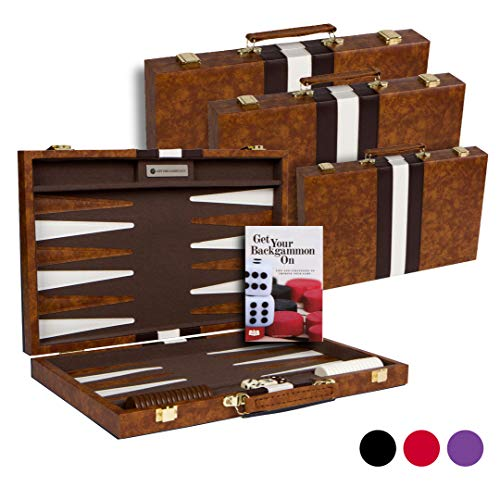 Get The Games Out: Best Cheap Leather Backgammon Set