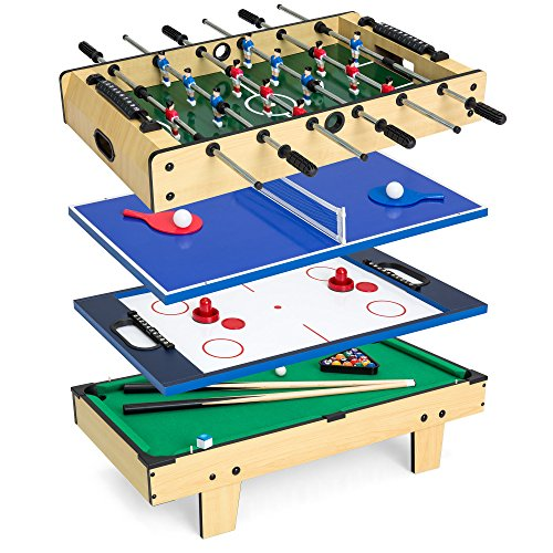 Best Choice Products 4-in-1 Arcade Competition Game Table