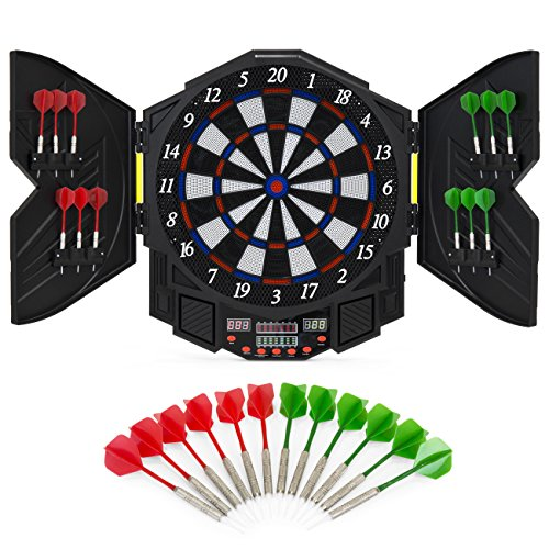 Best Choice Products Electronic Dartboard Game