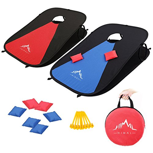 Himal Collapsible Portable Corn Hole Game Boards