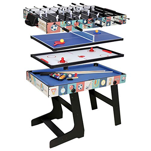 Funmall 4-in-1 Multi Game Table