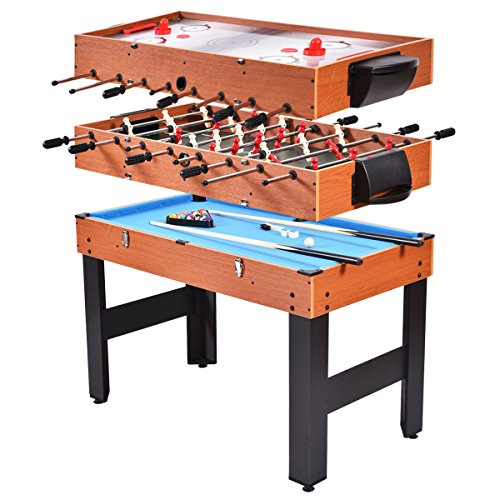 Giantex 4-in-1 Multi Game Table