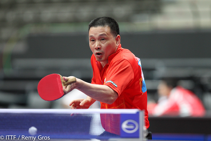 oldest ping pong player