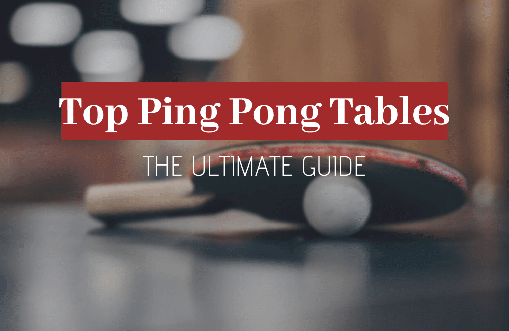 best indoor and outdoor ping pong tables