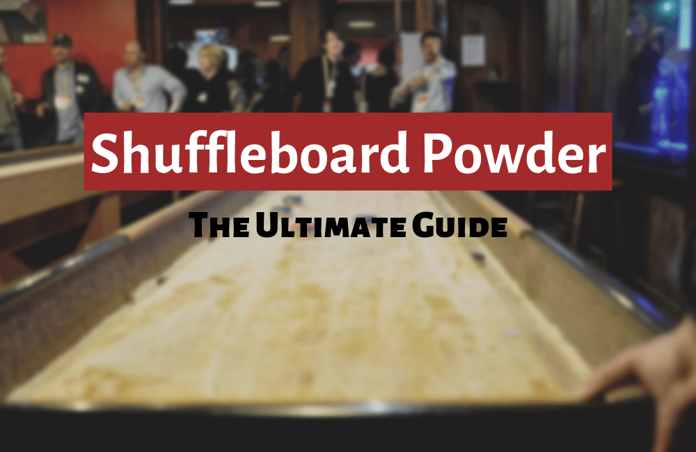 shuffleboard powder guide