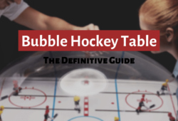 Best Bubble Hockey Tables Reviews: The Definitive Guide