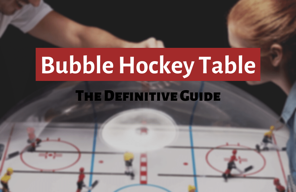 best bubble hockey tables