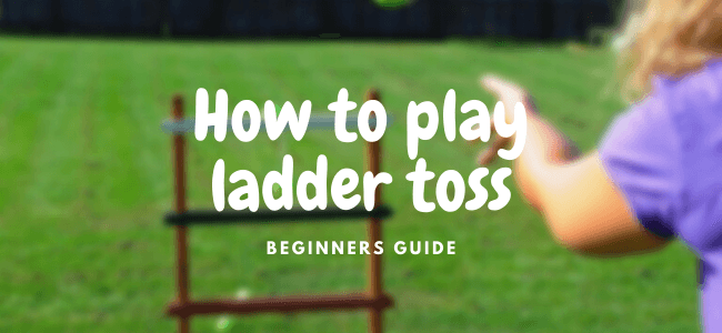 how to play ladder toss