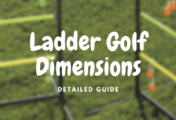 Ladder Golf Dimensions and Distance: Detailed Guide