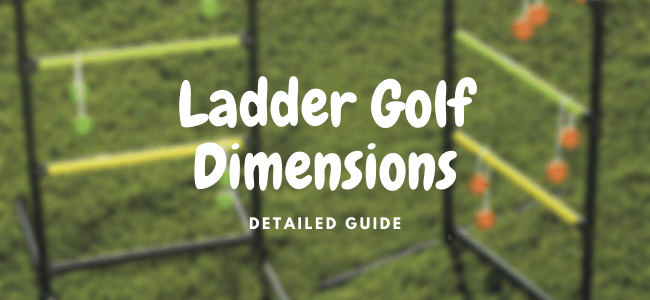 ladder toss dimensions and plans