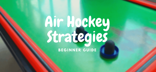 air hockey strategies