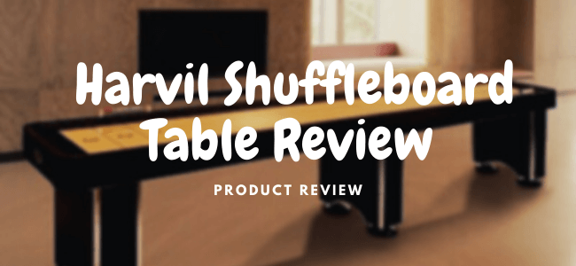 harvil shuffleboard table review