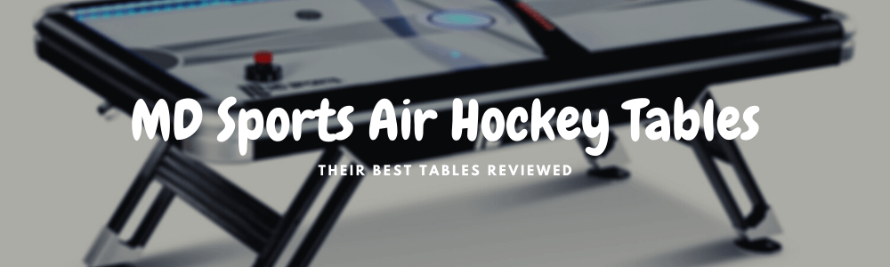 MD Sports air hockey tables