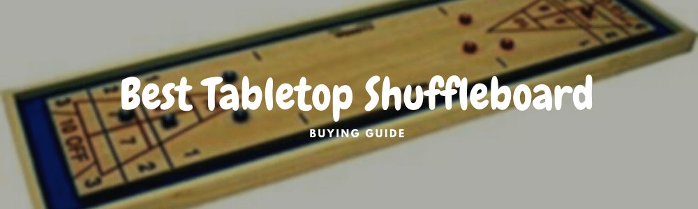 best tabletop shuffleboard