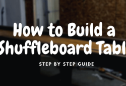 How to Build a Shuffleboard Table: DIY Plans