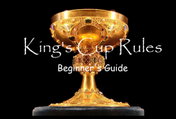 King's Cup Rules: How to Play the Classic Drinking Game